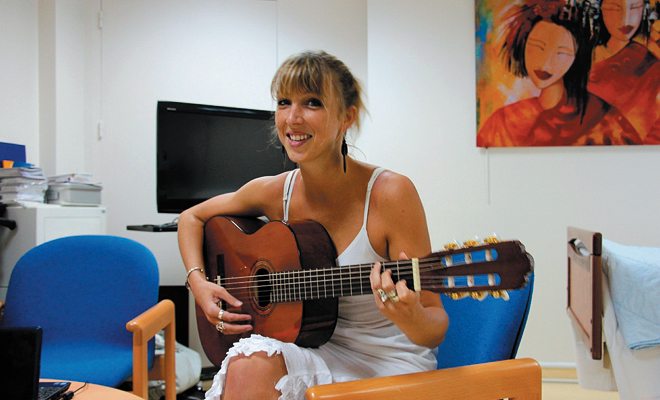 Musicotérapie - Fondation Bergonié